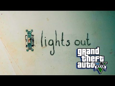 GTA 5 ONLINE -  LIGHTS OUT ( GTA 5 SKIT)