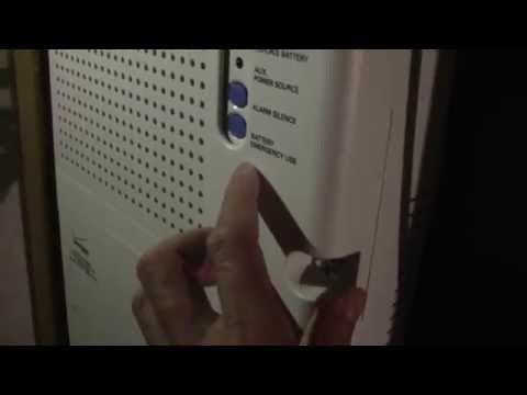 Reset Fios ONT alarm or replace the backup 12 volt battery