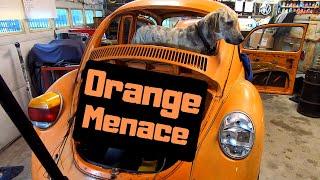 """""""The Orange Menace"""" - a 1973 Volkswagen Beetle"""