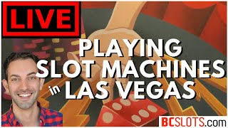🔴 LIVE Playing Slot Machines in Las Vegas ✦ Gambling with Brian Christopher at Cosmopolitan