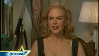 Nicole Kidman interviewed on Access Hollywood