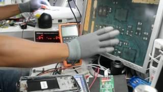 reparación LG G3 Stylus D690 no enciende corto entre positivo y negativo pin bateria