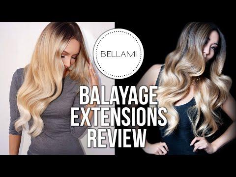 Bellami Balayage Guy Tang Extensions Review!