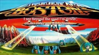 [Hatsune Miku & The Playloids] BOSTON / Don't Look Back [cover song] V2