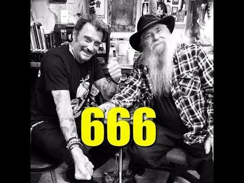 JOHNNY HALLYDAY TATOUAGE SATANIQUE 666 PEDOPHILE LEGALISE ?!?! PREUVES ET DEBAT