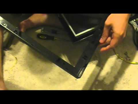 Westinghouse HD TV repair Part 1 disassembly