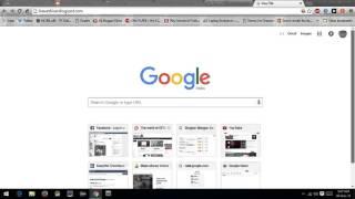 How to open website in google web light