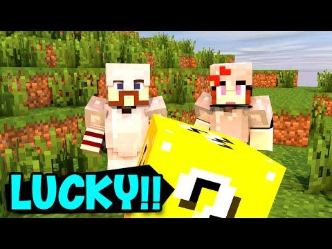 ABRINDO LUCKY BLOCKS!! (c/ Miss)  Minecraft: HARDCORE LUCKY BLOCK EM DUPLA! #3