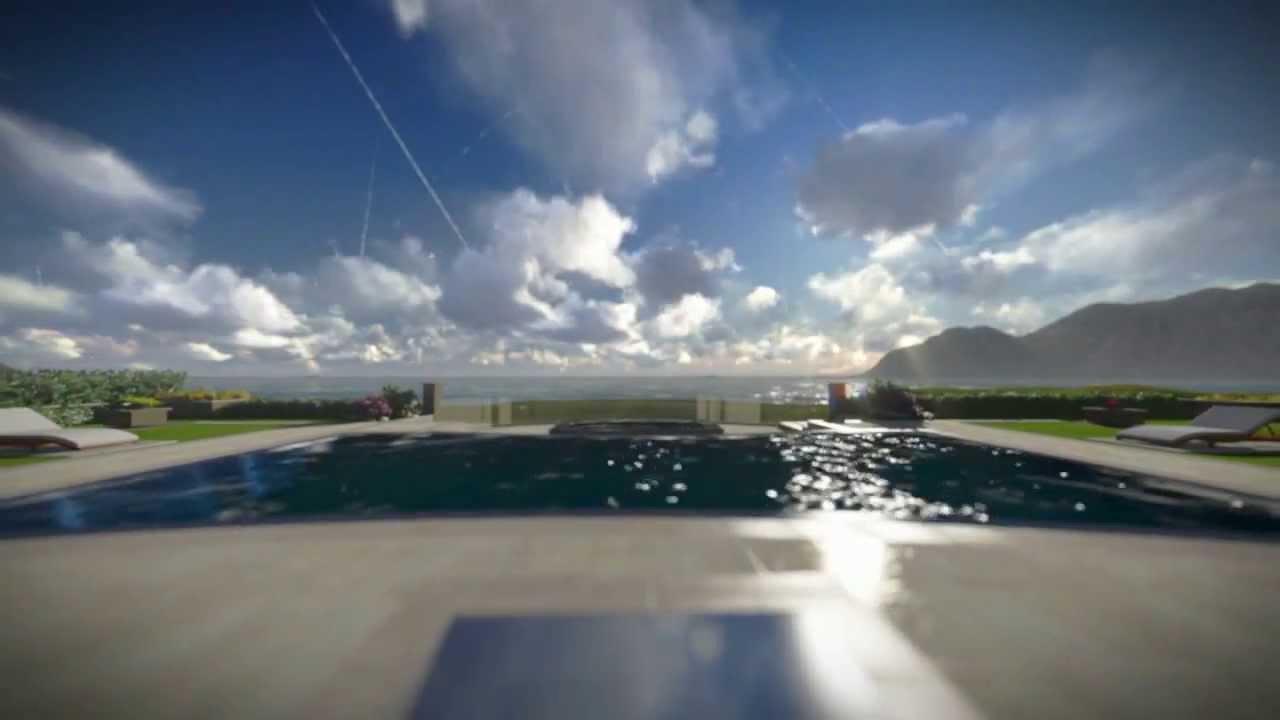 Rim Flow Pool Design Custom Pool Spa Rim Flow
