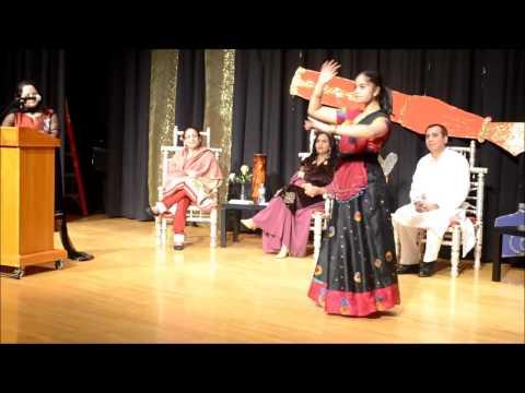 Beti -Recitation and Dance at Hindi Sahitya Sammelan by Hindi Manch Boston