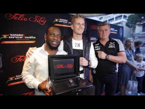 Felio Siby & Force India Watch Launch party in Monaco