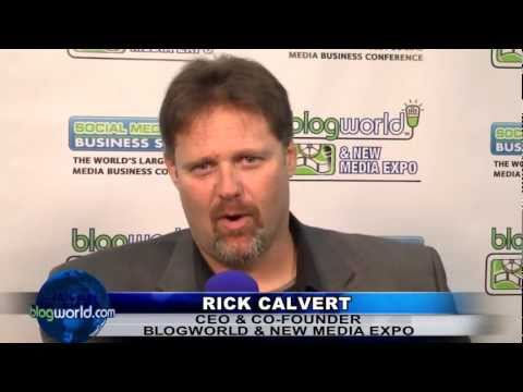 Rick Calvert - Interview BlogWorld New York 2011