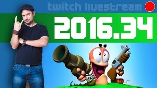Livestream 2016 #34 - Worms Mayhem, Dead Space 3