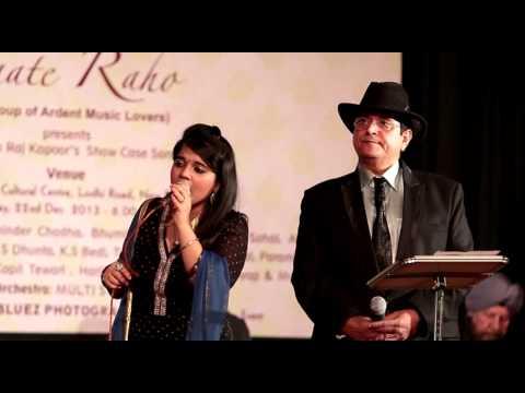 Yeh raat Bheegi Bheegi originally Sung by  lata & Manna Dey