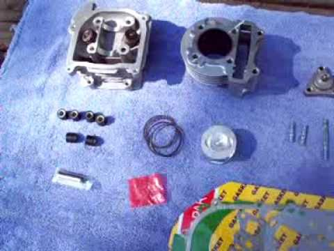 139QMB 82cc Big Bore Installation Part 1