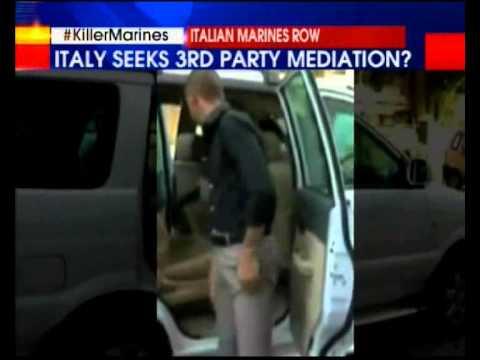 Italy raises marines row with UN chief Ban Ki-moon