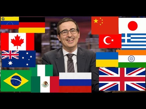 Last Week Tonight with John Oliver - Describes Countries (Funny Compilation)