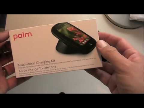 Palm Pre: Touchstone Wireless Charger and Car Kit Video