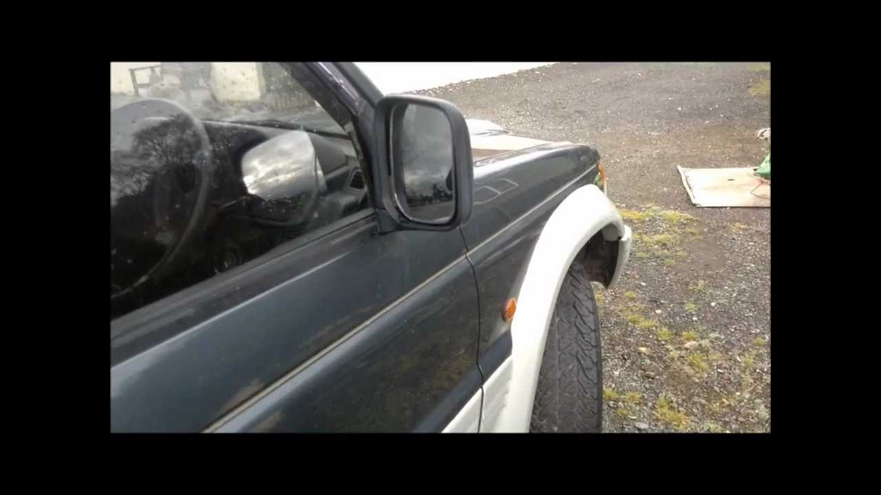 Mitsubishi Pajero Shogun 2 8 Poor Cold Starting Fix