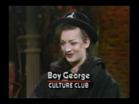 Boy George interviewed by Martha Quinn on MTV (1983, part 1 of 2)
