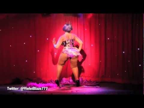 Butterflymodels - Violet Blaze wins Burlesque Idol 2012