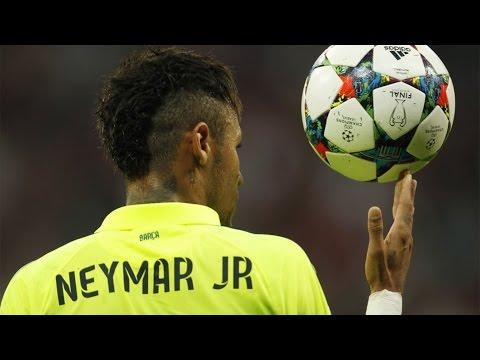 Neymar vs Bayern Munich Away • UCL Semi-Final • 12/5/15 [HD]