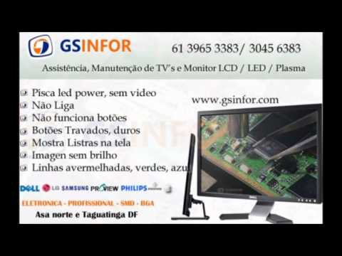 Assistencia TV LCD LED Plasma em Brasilia - Aoc Samsung LG Philips CCE Sony Philco - Brasilia DF
