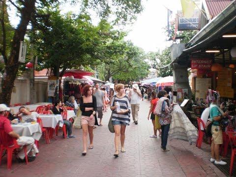Bangkok – Thailand  Rambuttri Street,Near Khao San Road,  – 27 October 2010