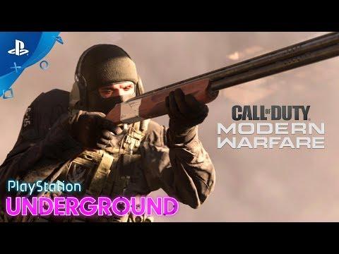 Call of Duty Modern Warfare - 2v2 PS4 Gameplay - PlayStation Underground