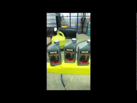 How to change the oil in a Yamaha Big Bear part 3