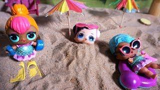 LOL SURPRISE DOLLS Land In Hawaii For Hawaiian VACATION!!
