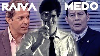 Linguagem Corporal AO VIVO - Mourão, Haddad, Ana Amélia (Record News - Vitor Santos)