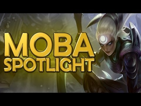 League of Legends: Diana Gameplay and Review - MOBA Spotlight (Ep. 1)