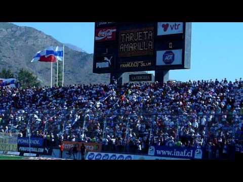 alentando a la UC contra las ruleteras marakas en San Carlos... en la 9na Fecha del Apertura 2009 a estadio lleno!