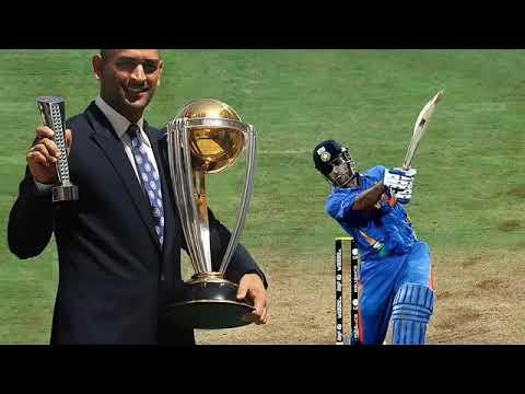 Dhoni cricket plyer highlight match batin