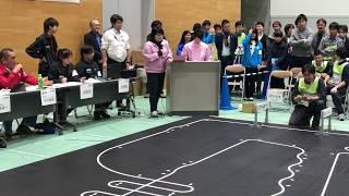 2018 Japan Robotrace contest, 1st prize Cartis04.8 by Hirai san, 11.166s