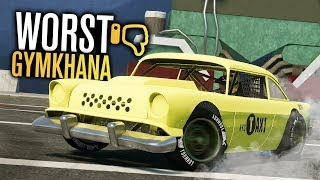 Building The WORST GYMKHANA Cars?!