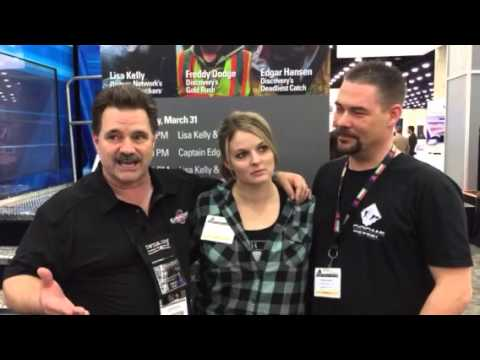 Lisa KELLY with Dave & Bruce from Chrome and Steel Radio
