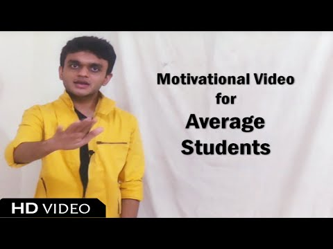 Motivational Video for Student | Average Students | Hindi