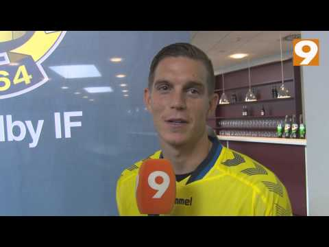 CANAL9 - Daniel Agger interview ved præsentationen
