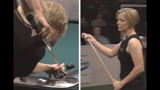 Absurd 6-shot runout from World Champion Pool Player Allison Fisher