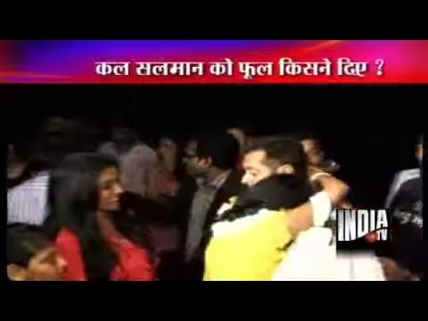 Female Fan Hugs Salman Khan in Public