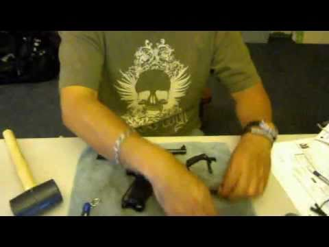 RUGER Mark III Standard - REASSEMBLY