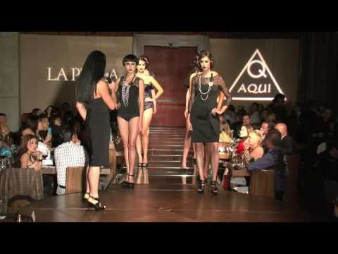 AQUI Designs: Art-To-Wear & LA PERLA: Lingerie Fashion Show. (Fall 2010)
