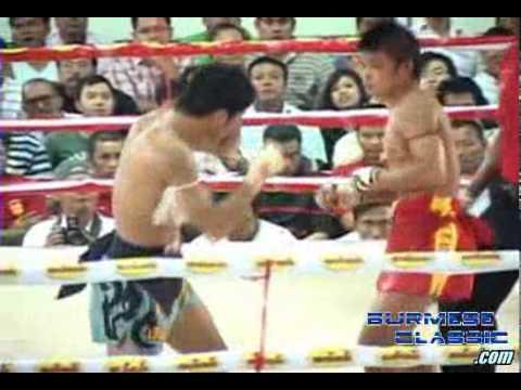 Shwe Htun Yon(Myanmar) VS Thai Boxer