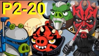 Angry Birds Star Wars 2 P2-20 Escape to Tatooine P2-20
