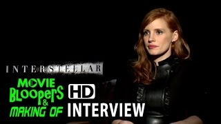 Interstellar (2014) Interview - Jessica Chastain (Murph)