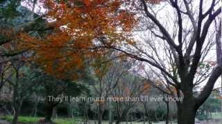 Michael Buble Video - Michael Buble- What A Wonderful World -lyrics ,陽明山楓 ,720p HD