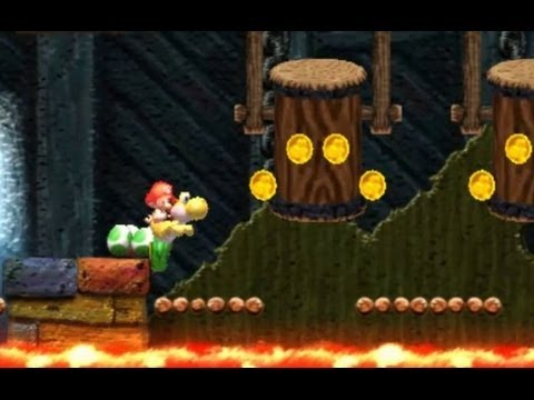 Yoshi's New Island 100% Walkthrough - World 1-4, World 1-5 & World 1-6