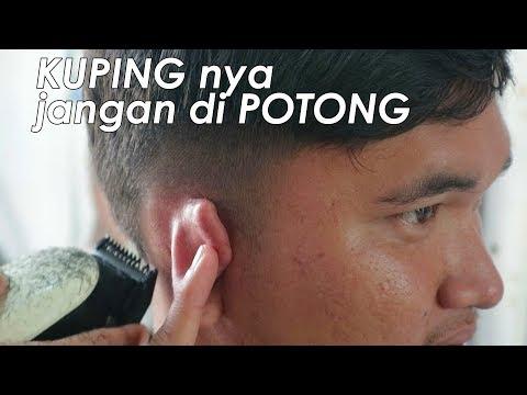 Inspirasi Potong Rambut PRIA 2018  ( Step by Step )